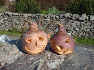 Long before the pumpkin their as the turnip.
