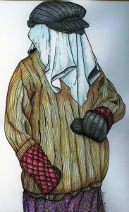 Mummer created by Stephanie Baker Sutton