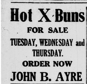 Advertisement in the Evening Telegram, St. John's, April 1919.