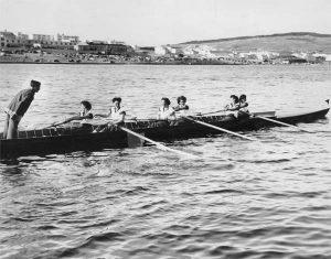 Photo Credit: The Rooms Provincial Archives. Bowring's Ladies Championship Crew St. John's Regatta, 1949.