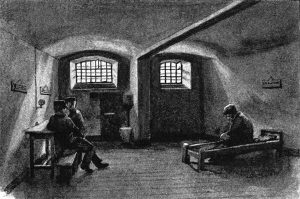 A prison cell is no place for  a 'chaw'.