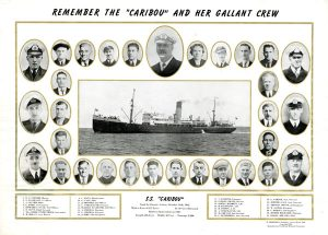 Photo Credit: The Rooms Provincial Archives: C 2-48; Remember the SS Caribou and Her Gallant Crew
