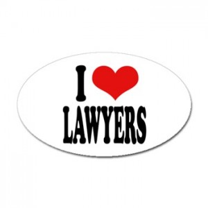 Love your lawyer!