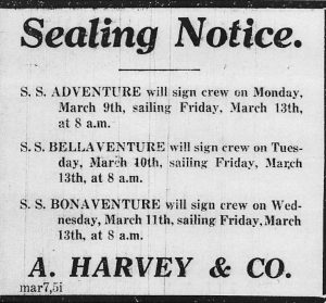 Sealing Notice, Harvey