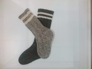 More than a pair of socks, knitting for their soldier boys.