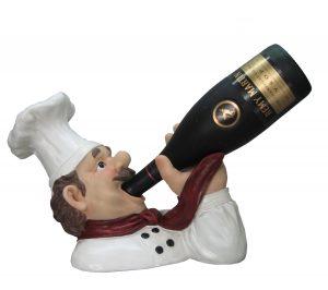 Chef-Drinking-Wine-Bottle-Holder