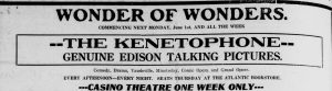 Advertisement: Evening Telegram (St. John's, N.L.)