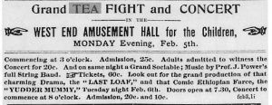 Evening Telegram, St. John's, NL Advertisement: February 3, 1894