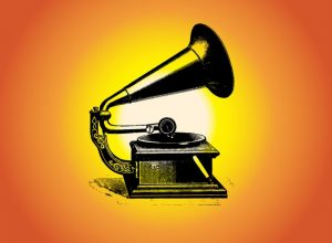 In 1903 the new and emerging form of entertainment was the gramophone.