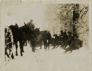Photo Credit: The Rooms Provincial Archives A 58-153; Newfoundland troops resting in the snow