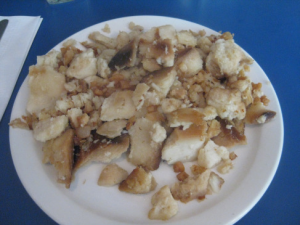Fish and Brewis served to the Newfoundland Regiment in the trenches of France.