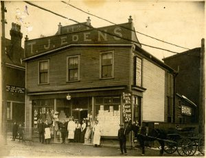 Photo Credit: The Rooms Provincial Archives: B 14-39; T.J. Eden's Store, 112 Military Road, St. John's